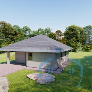 besplatni projekt kuće