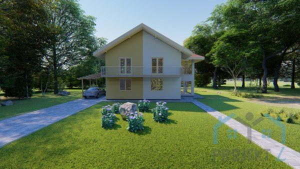 projekt kuće