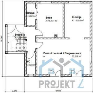 projekt kuće gotovi